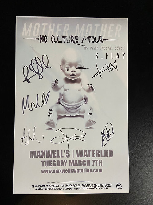 REPLICA - Mother Mother 2017 - Signed