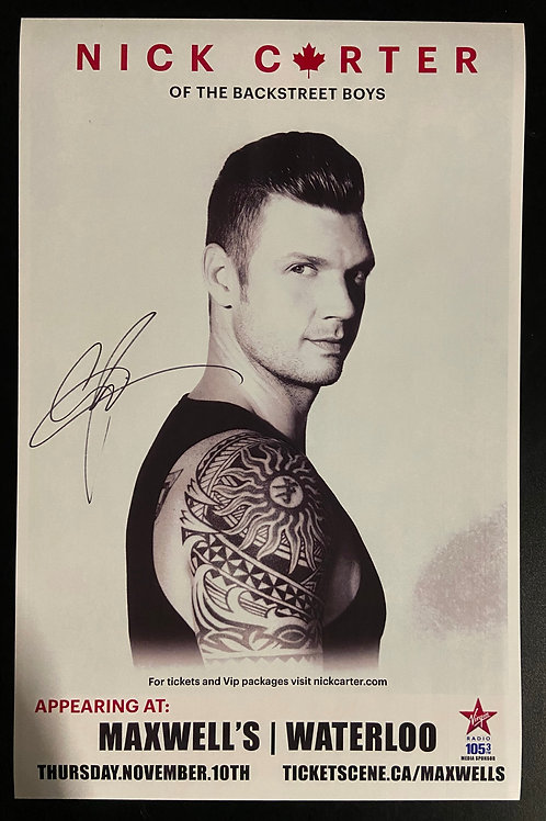 REPLICA - Nick Carter 2016 - Signed
