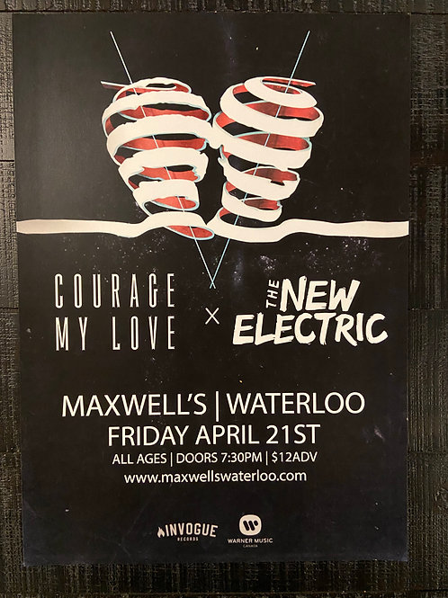 Courage My Love & The New Electric 2017