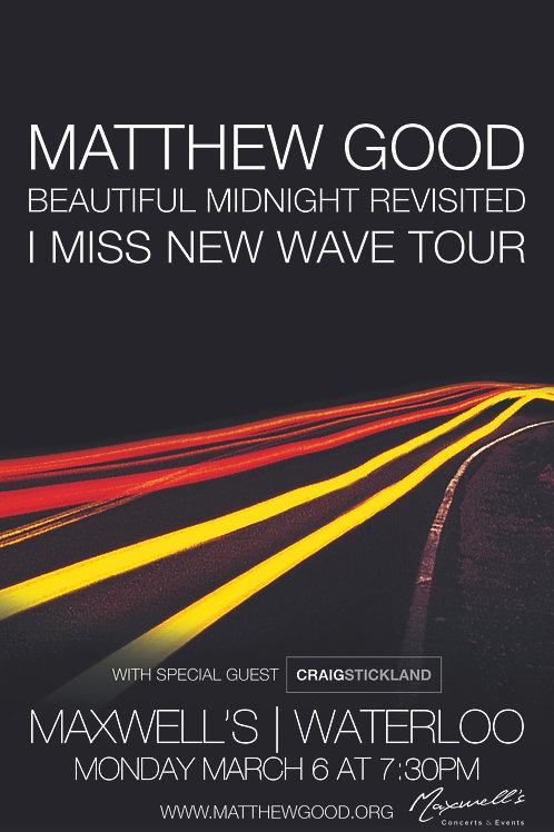 Matthew Good 2017