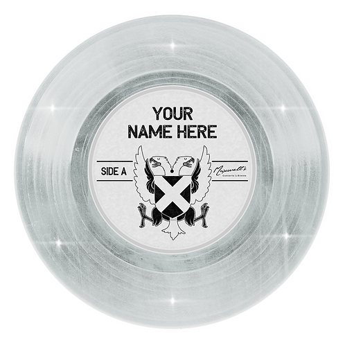 DIAMOND Custom 12-inch vinyl record wall decal