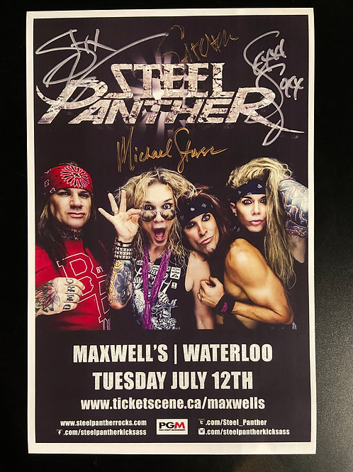 REPLICA - Steel Panther 2016 - Signed