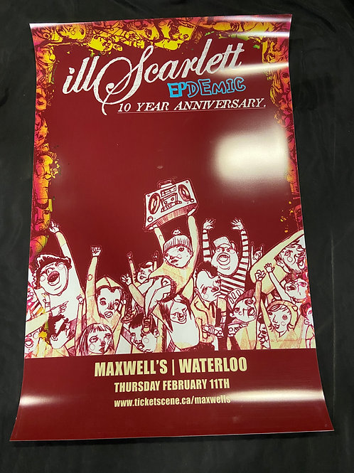 Ill Scarlett 2016 Large Window Display Poster - Curbside Pickup Only