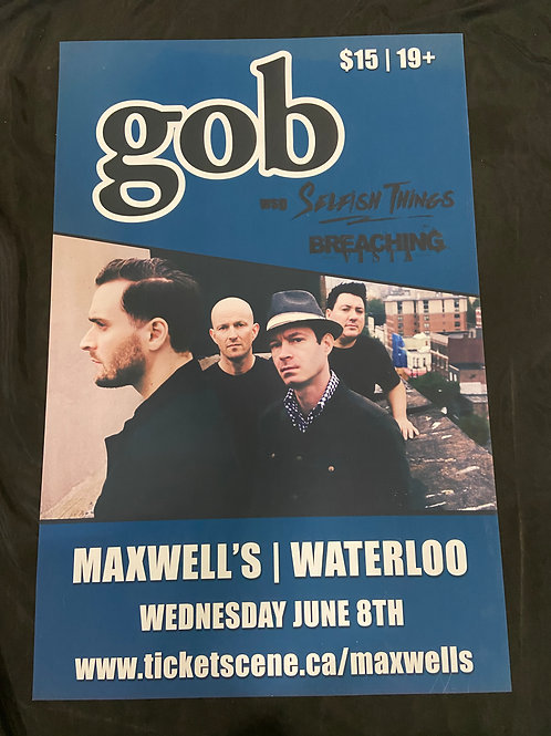Gob 2016 - Large Window Display Poster - Curbside Pickup Only