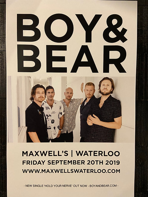 Boy & Bear 2019