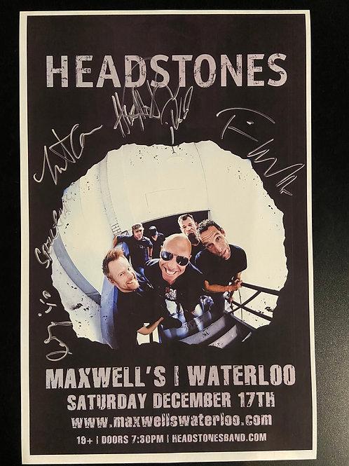 REPLICA - Headstones 2016 - Signed