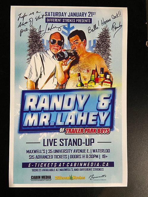 REPLICA - Randy & Lahey 2017 - Signed