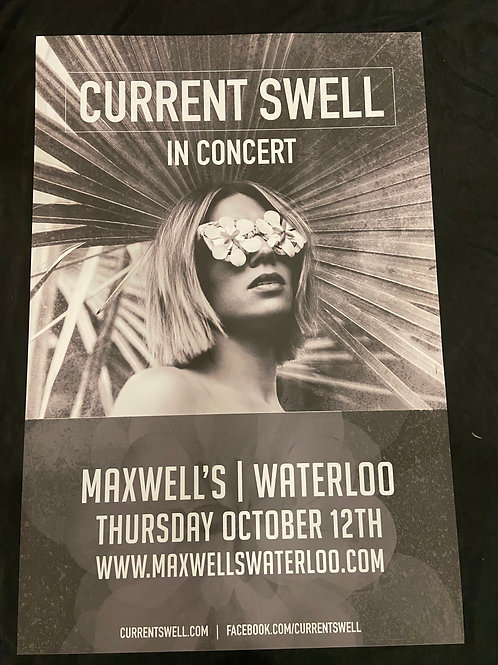 Current Swell 2017 - Original Large Window Display Poster - Curbside Pickup Only