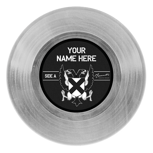 PLATINUM Custom 12 inch vinyl record wall decal