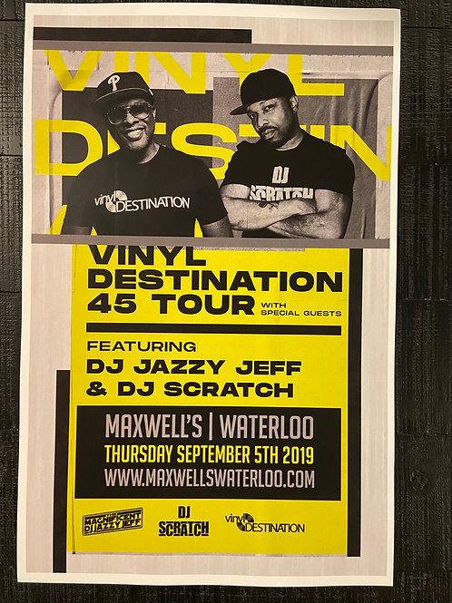 DJ Jazzy Jeff & DJ Scratch 2019