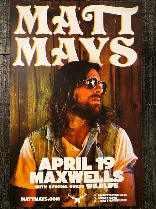 Matt Mays 2017