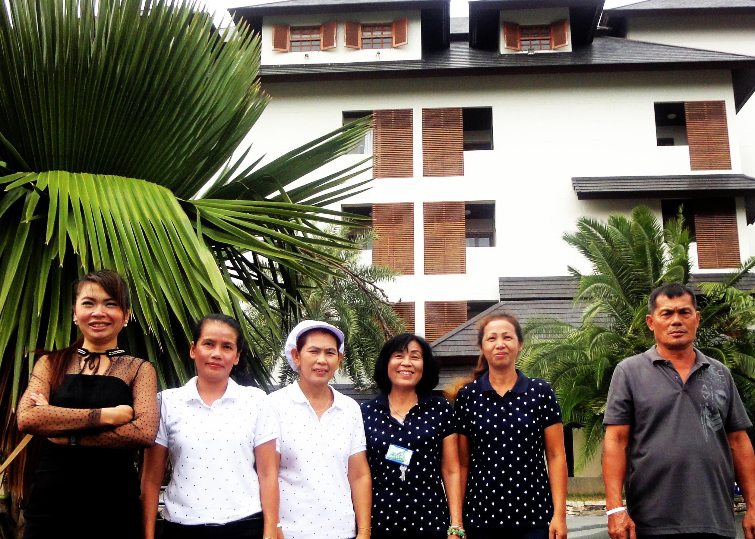 Royal Place Staff