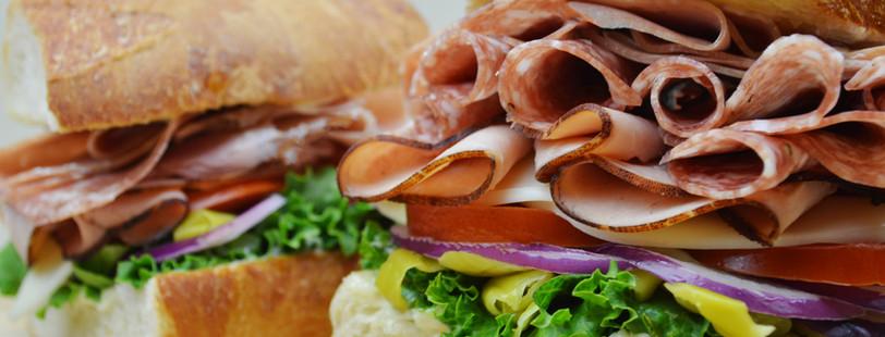 Piled-high Sandwiches