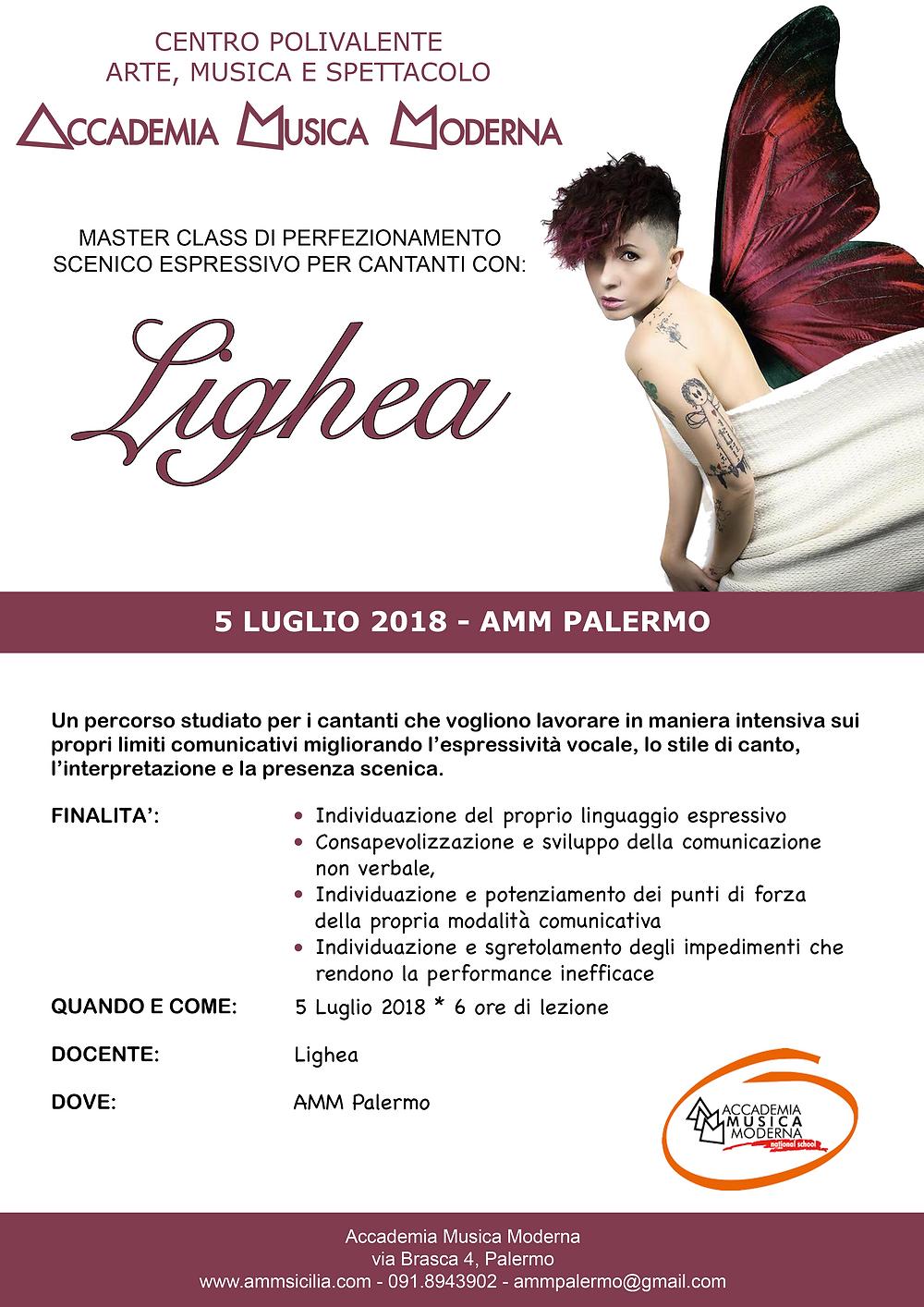 stage estivo Lighea - AMM Palermo