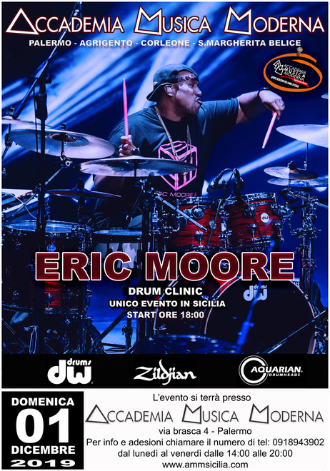 ERIC MOORE DRUM CLINIC