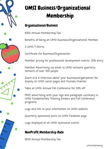 UMSI Membership Pricing and Benefits Fly