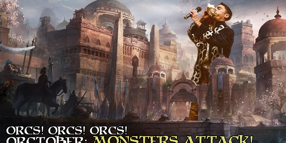 Orcs! #35: Monsters Attack!!