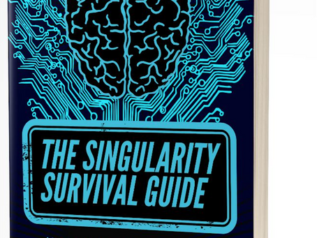 Limited Edition Cover of The Singularity Survival Guide