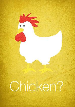 ganze frische Hühner