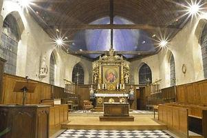 éclairage led église en normandie