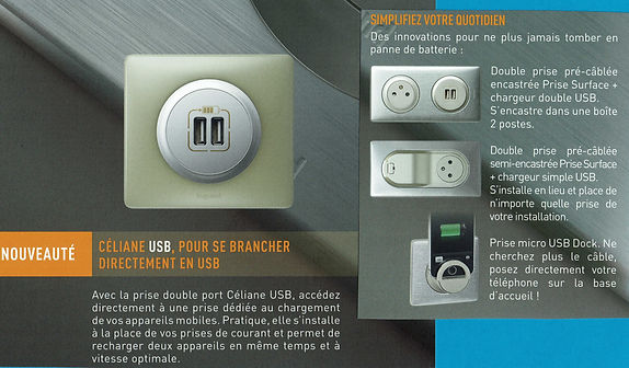 USB  LEGRAND céliane