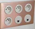 prise, appareillage électrique, RJ45,plaque  electrique