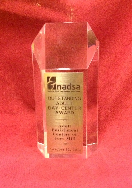 Day Center of the Year Award