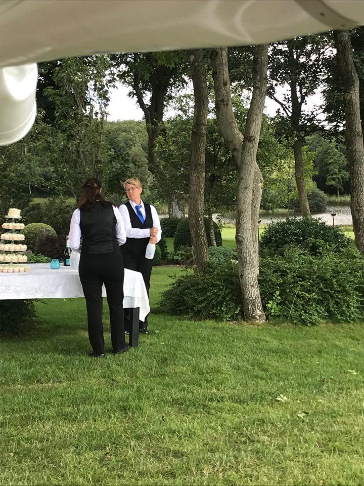 Anretning bryllupskage