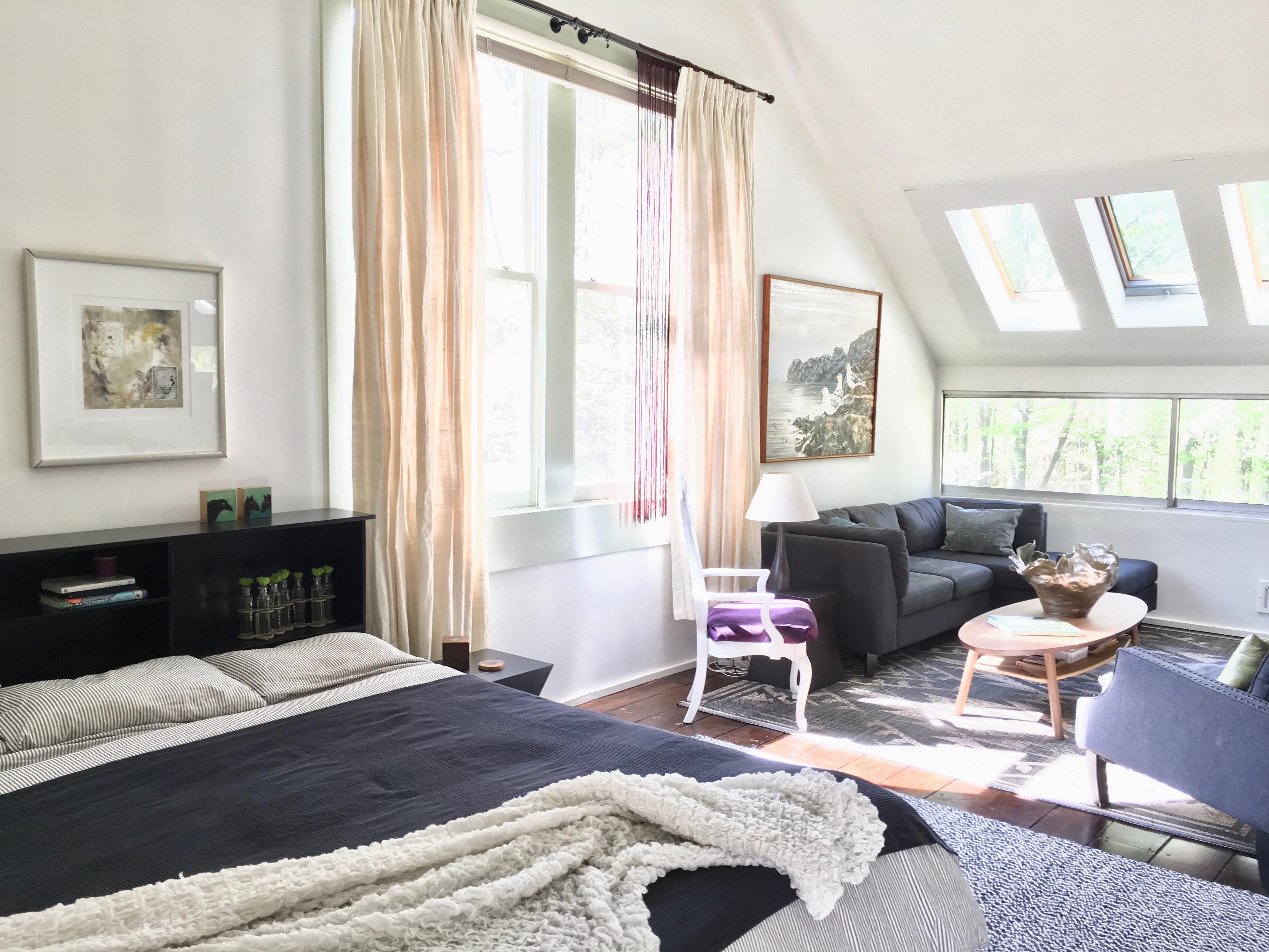 Barn home loft
