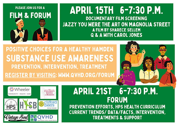 Substance use awareness event 4.15 and 4