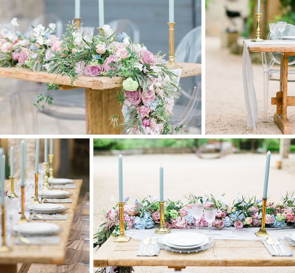 Commanderie-Peyrassol-table-mariage-details-decoration-florale