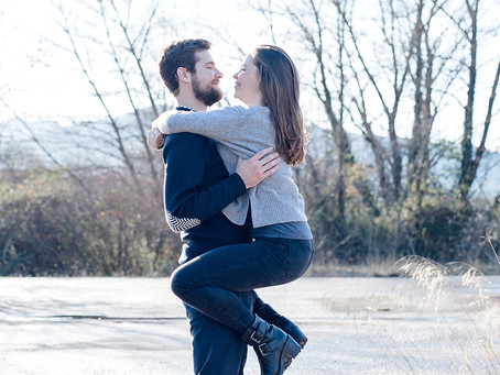 Séance Engagement - Mathilde & Hugo