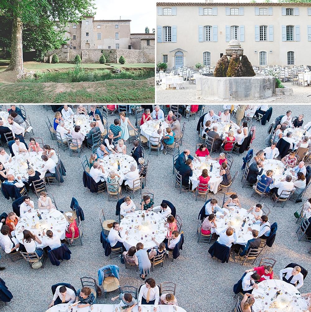 tables et batisse Château La Présidente brignoles