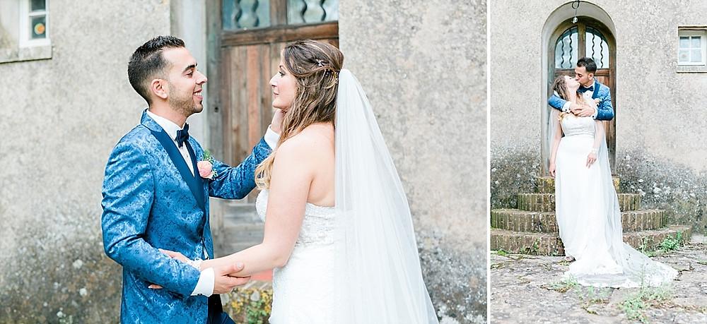 photos des mariés aux terre de saint-hilaire dans le var enprovence