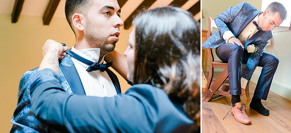 mariage preparatifs du maries Les Terres de Saint-Hilaire Ollières