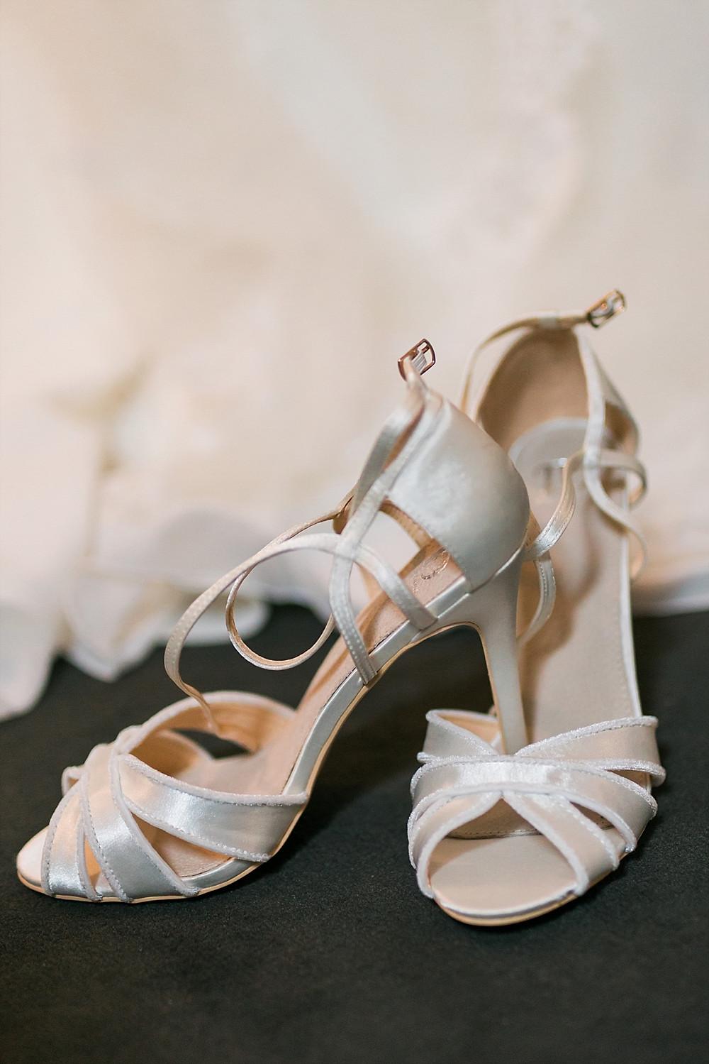 Les Terres de Saint-Hilaire, Ollières, chaussures mariee