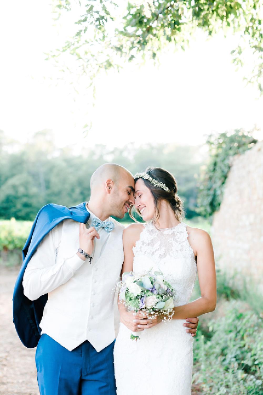 photos de mariage de couple au Domaine Saint-Martin, Flassans sur Issole