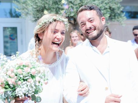 Laurie & Adrien, mariage en bord de mer au M5, Les Mourillons, Toulon...