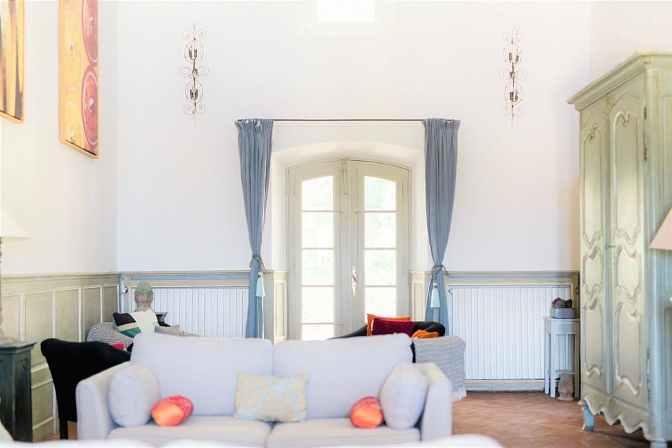 Intérieur du Château Grand Boise - Trets - Photographe intérieur - Photographe en immobilier - Photographe lifestyle