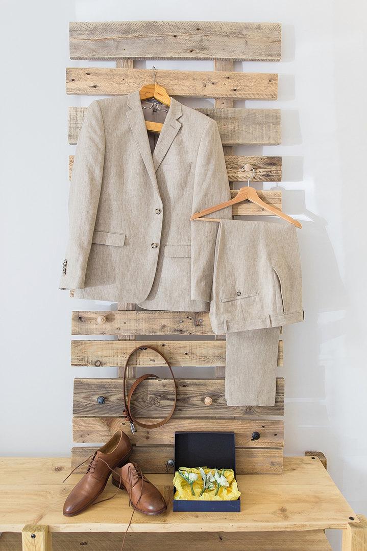 Les habits du mariés