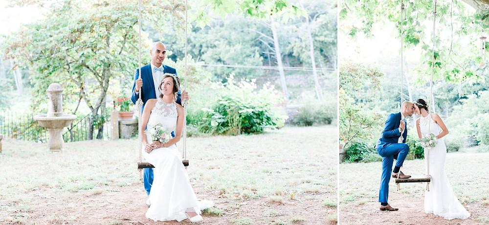 Session couple mariage au Domaine Saint-Martin, Flassans sur Issole