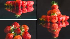 Autour d'une fraise
