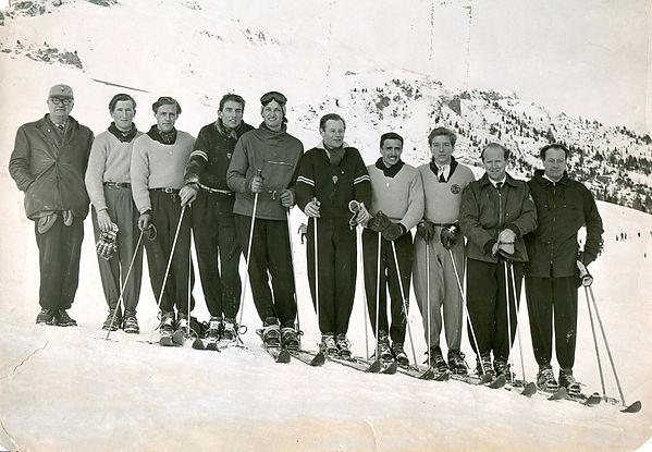 Anglo Swiss 52, Arnold Lunn, Nigel Gardn