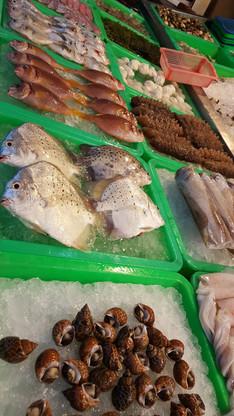 遊旗津半島吃海產
