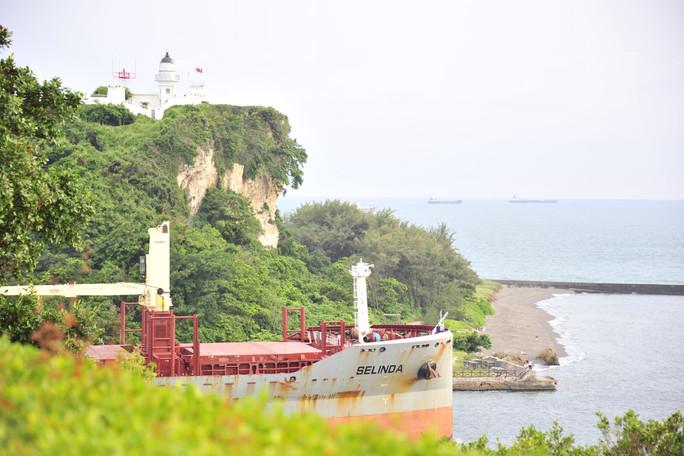 西子灣(打狗英國領事館)大船出港