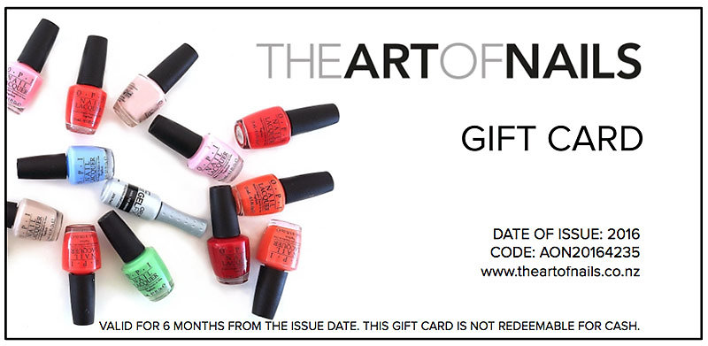The art of nails albany nail salon gift card gift card prinsesfo Gallery