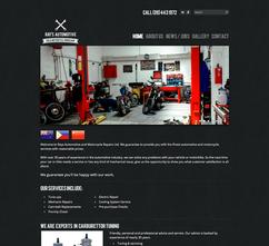 RAYS AUTOMOTIVE - BRAND / WEBSITE