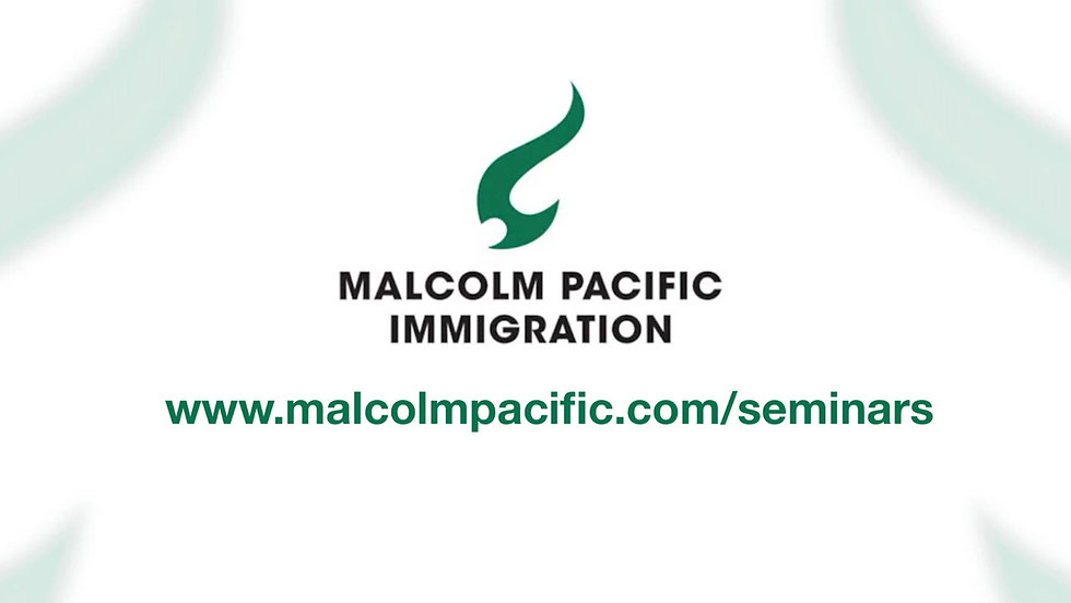 Malcolm Pacific Seminars 2020