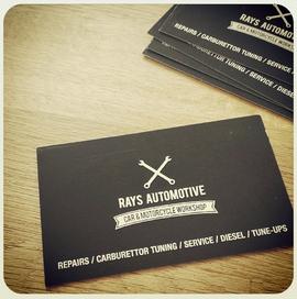 RAYS AUTOMOTIVE - BRANDING / PRINT