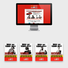 THE MAD BUTCHER - INTEGRATED ADVERTISING CAMPAIGN